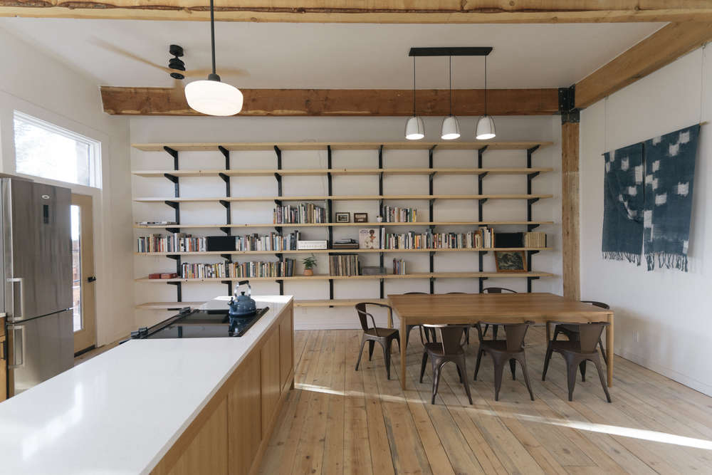 Kitchen Of The Week A Communal Kitchen Library At The