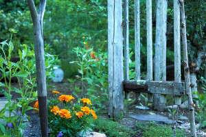 Marnie's garden gate, Gardenista
