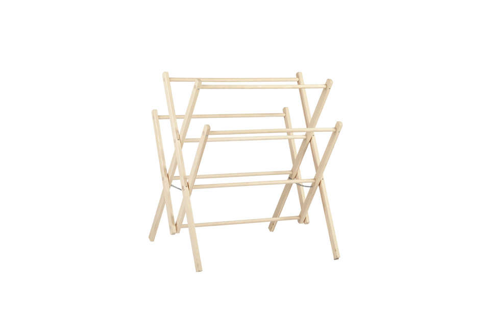 10 Easy Pieces Wooden Laundry Racks Remodelista