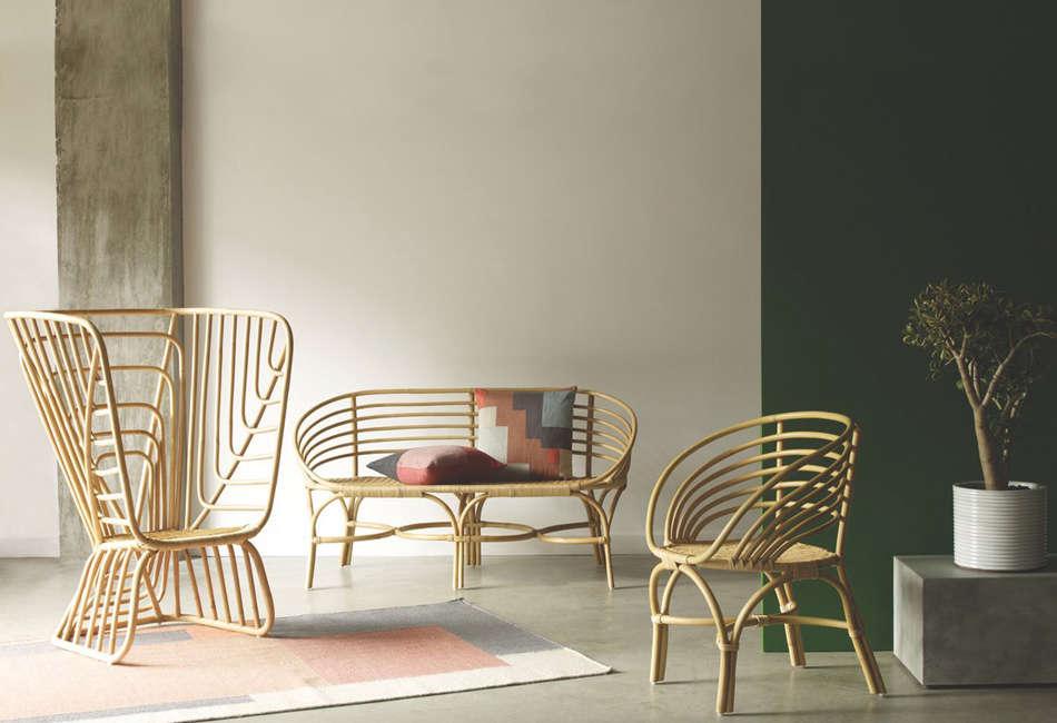 trend alert rattan furniture made modern plus 15 to buy remodelista. Black Bedroom Furniture Sets. Home Design Ideas