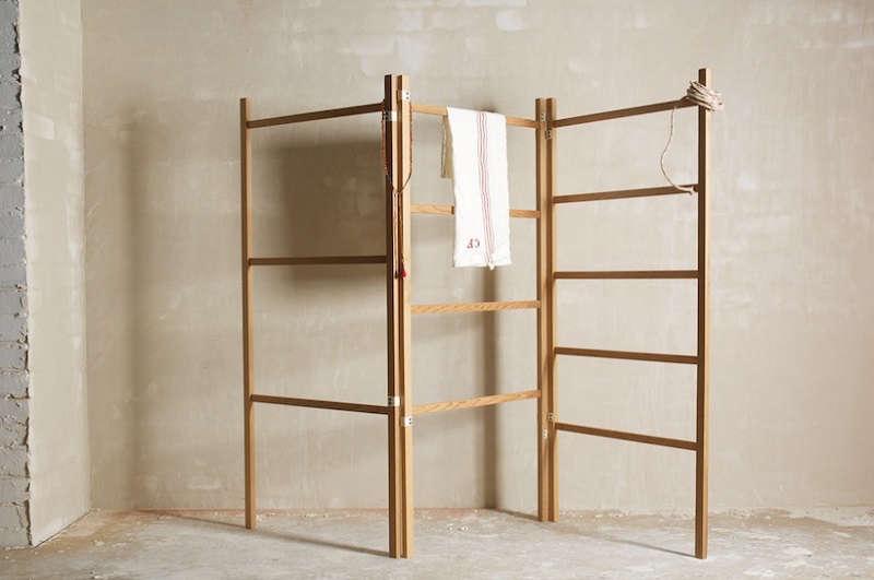 10 Easy Pieces Wooden Laundry Racks Remodelista