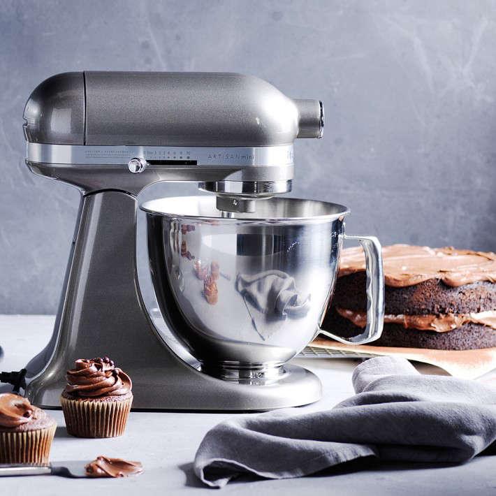 kitchenaid artisan mini stand mixer with flex edge beater. Black Bedroom Furniture Sets. Home Design Ideas