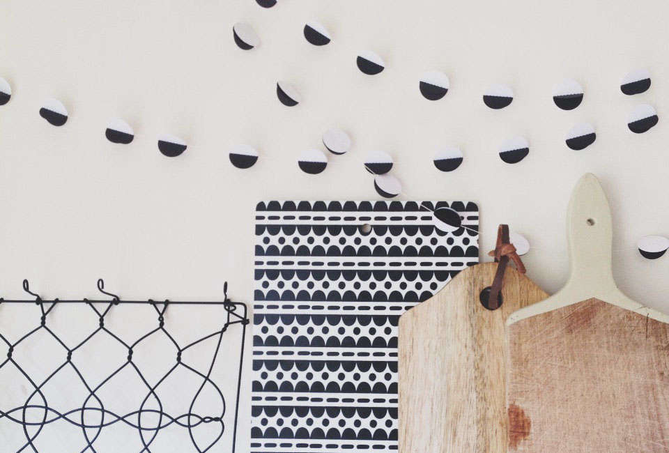 Maisy and Alice Paper Garland