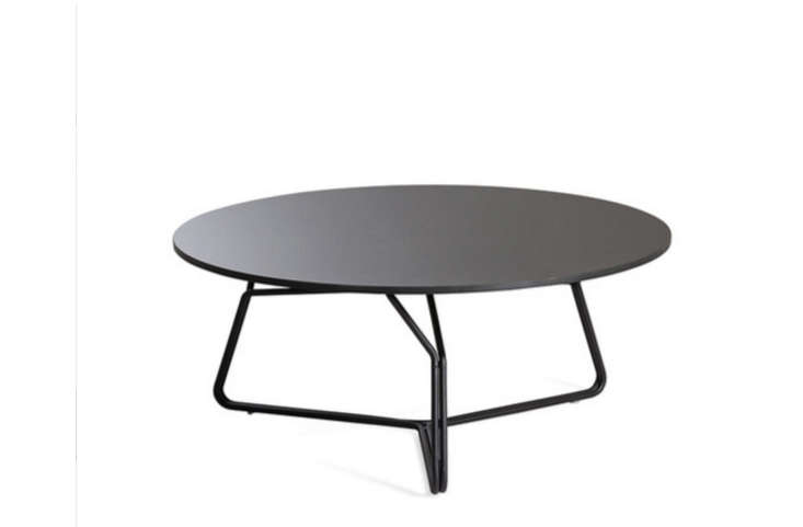 Room Coffee Tables Petra 120 Concrete Table Black Steel - Black Metal Coffee Table CoffeTable