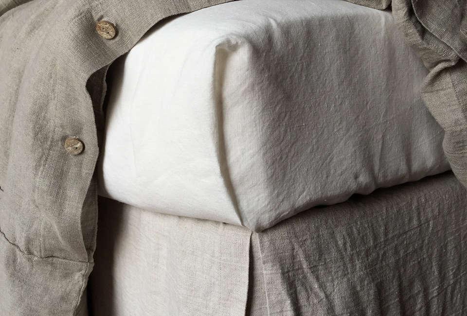 Rough Linen Raw Linen Sheets