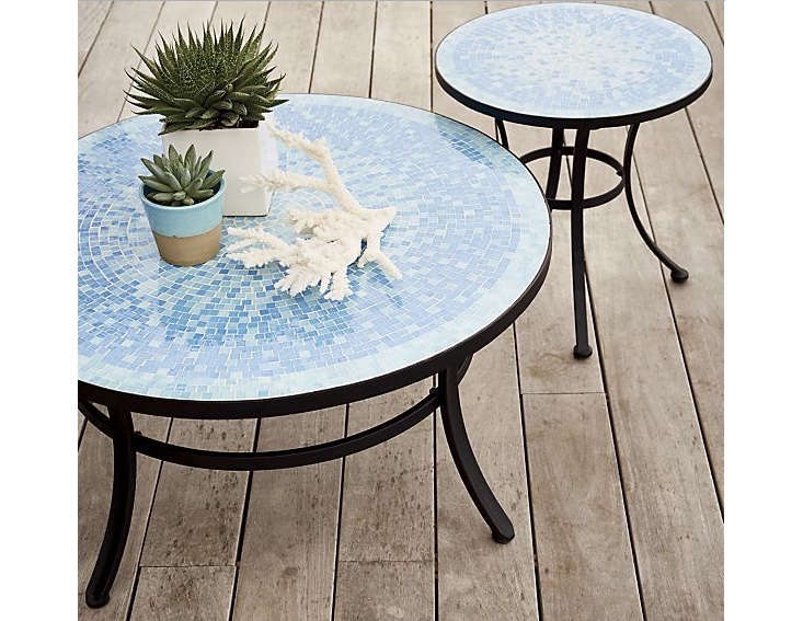 10 easy pieces tile coffee tables gardenista. Black Bedroom Furniture Sets. Home Design Ideas