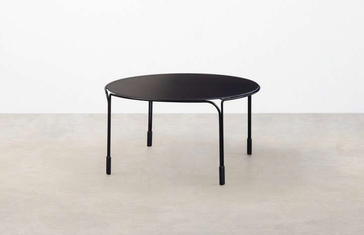 Based Designer Trent Jansen S Stainless Steel Tidal Coffee Table
