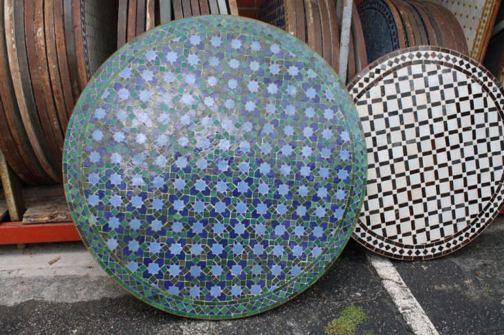 Round Mosaic Tile Coffee Tables Gardenista