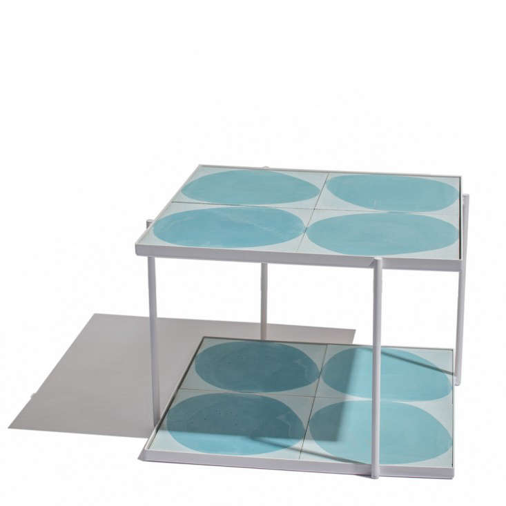 Square Tiled Coffee Table Gardenista