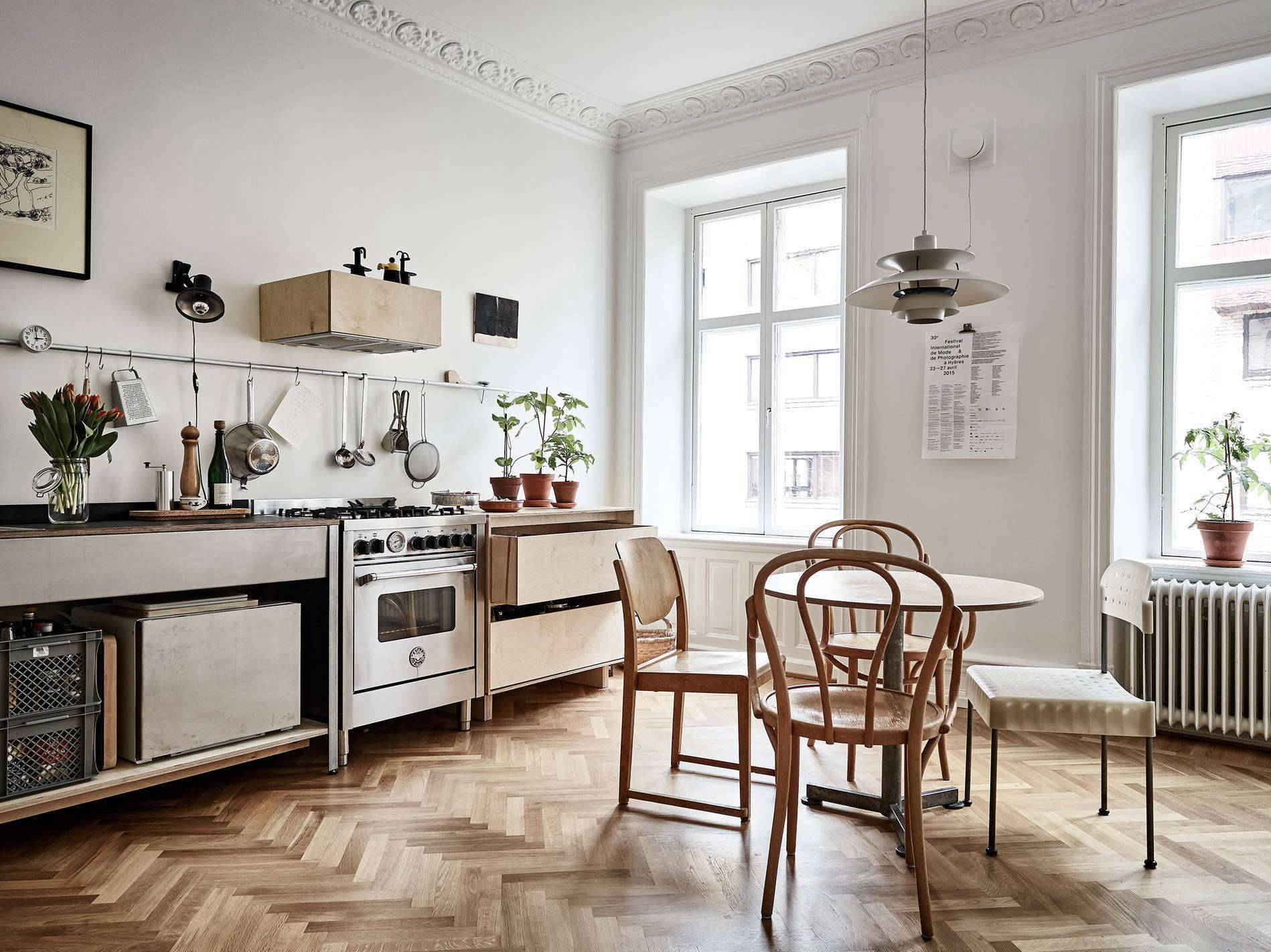 stadshem scandinavian kitchen - Scandinavian Kitchen Design 2