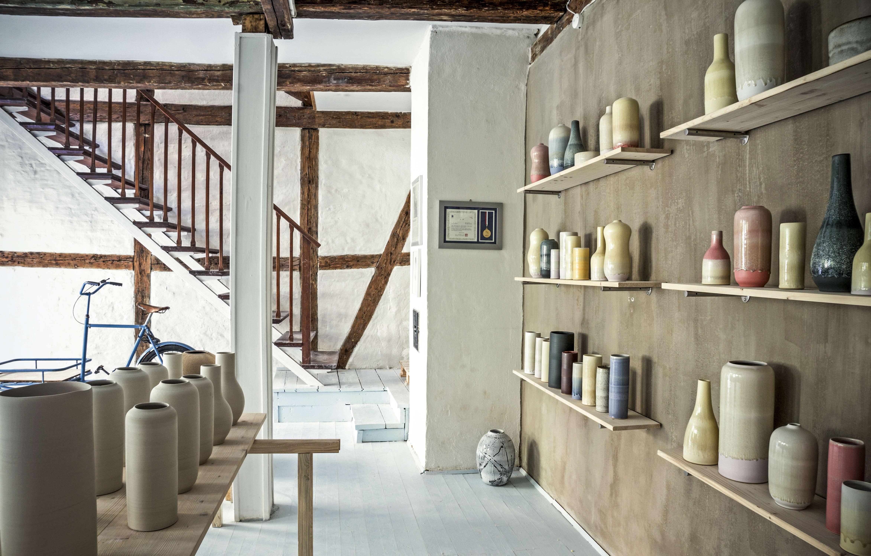 studio visit slow ceramics from tortus copenhagen gardenista. Black Bedroom Furniture Sets. Home Design Ideas