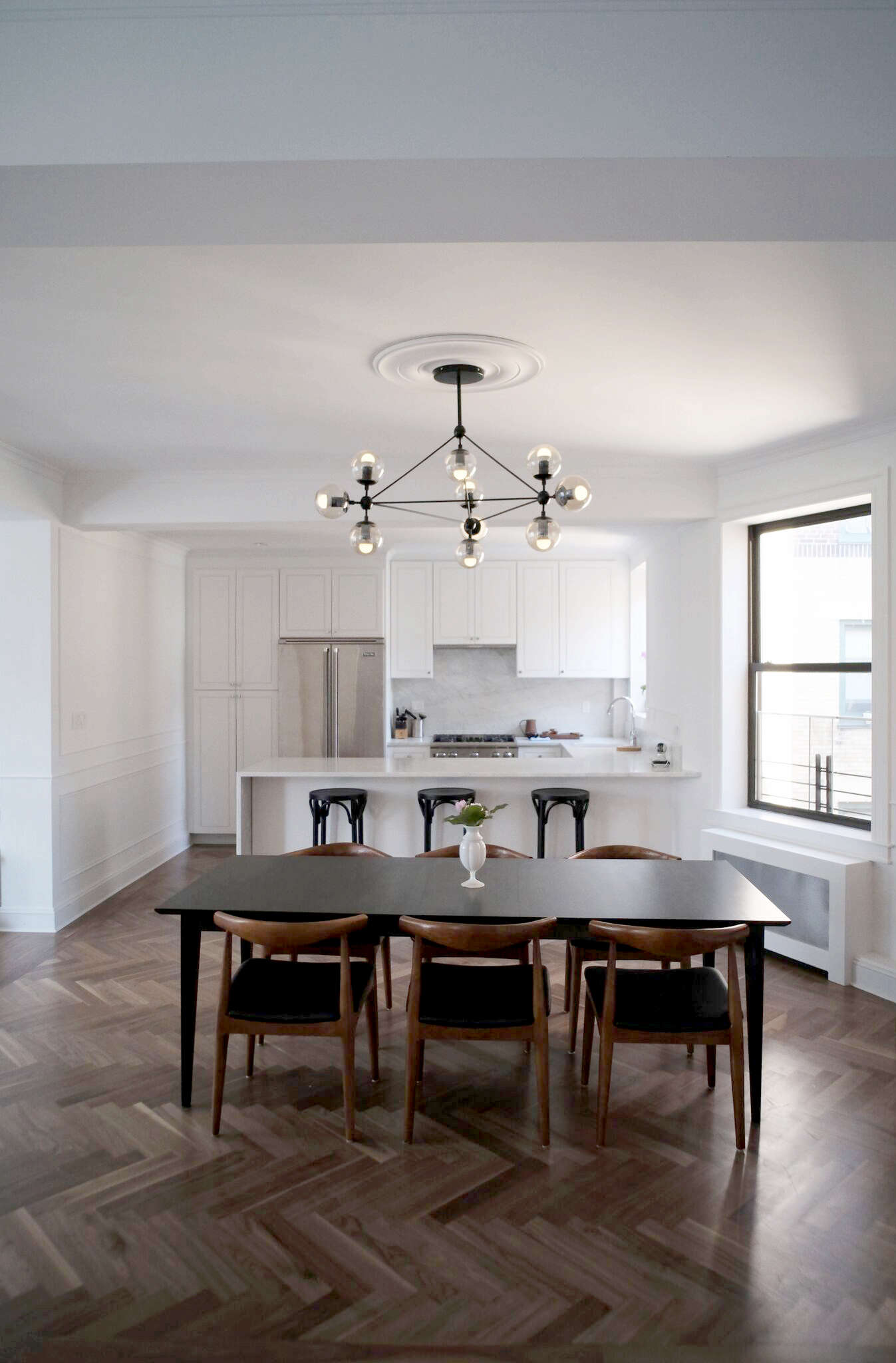 before after a period brooklyn heights penthouse gets an overhaul