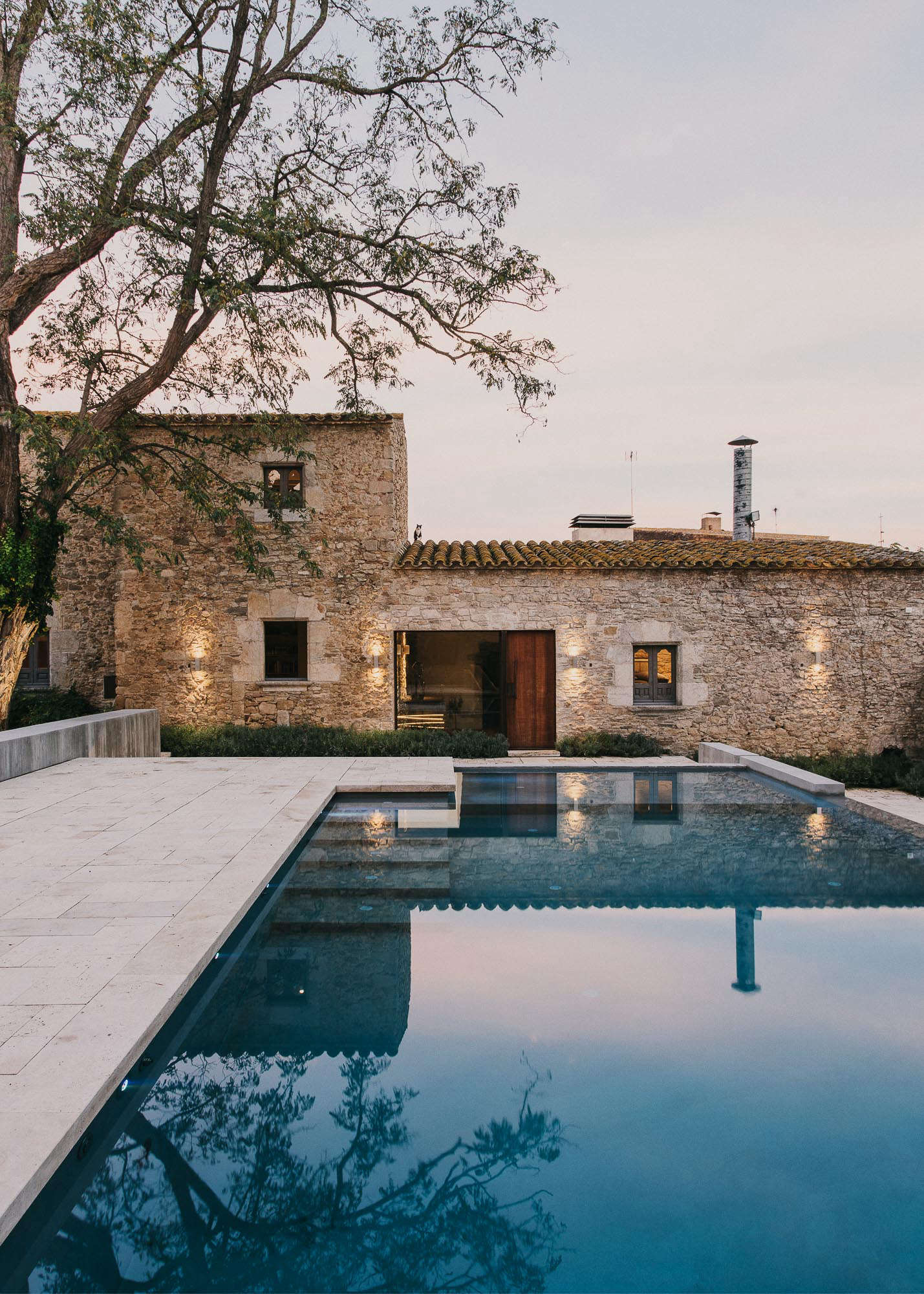 Swimming Pool Of The Week A Medieval Castle Gets An