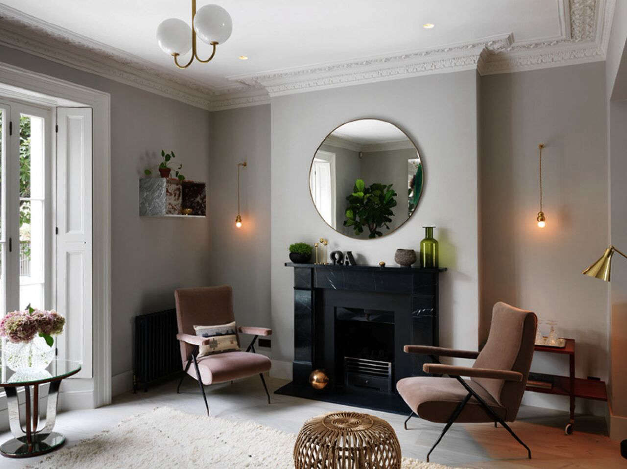 A notting hill townhouse tailored for living by charles for Complementi arredo casa