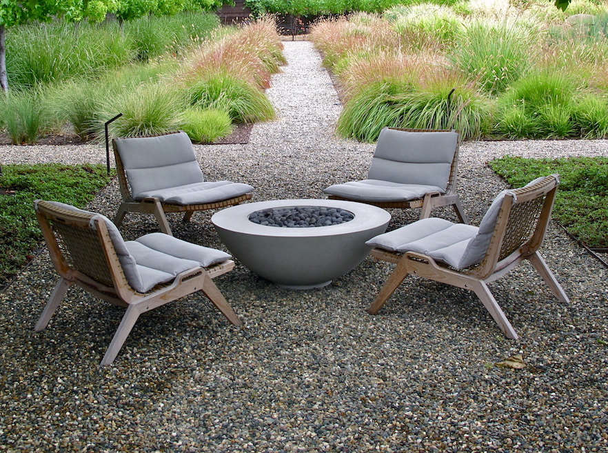 Outdoor furniture spotlight sustainable teak from an for Outdoor furniture italy