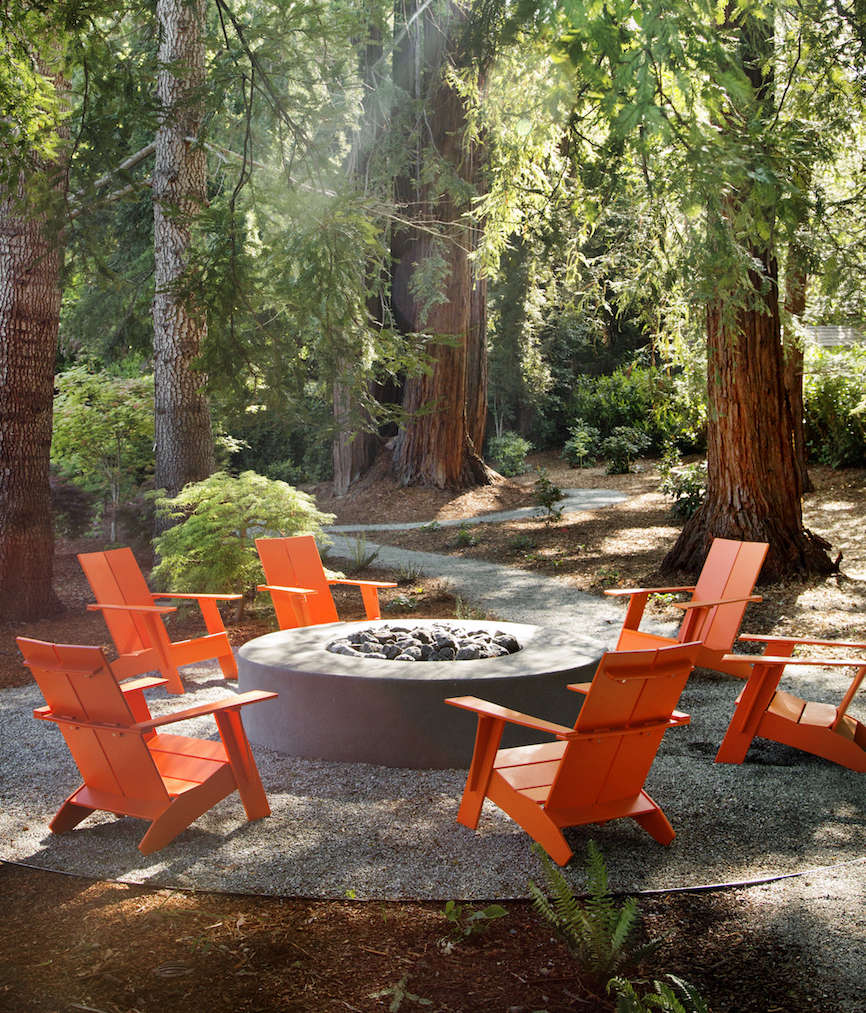 outdoor furniture spotlight colorful recycled designs