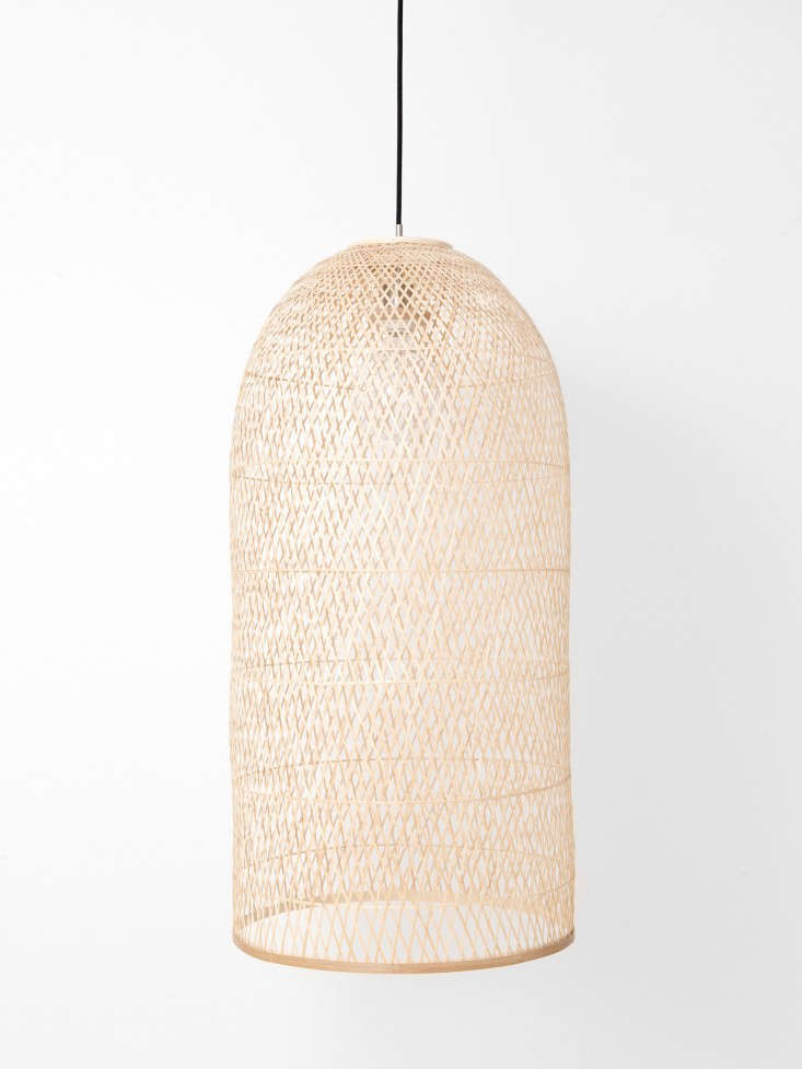 10 Easy Pieces: Airy Woven Pendant Lights: Gardenista