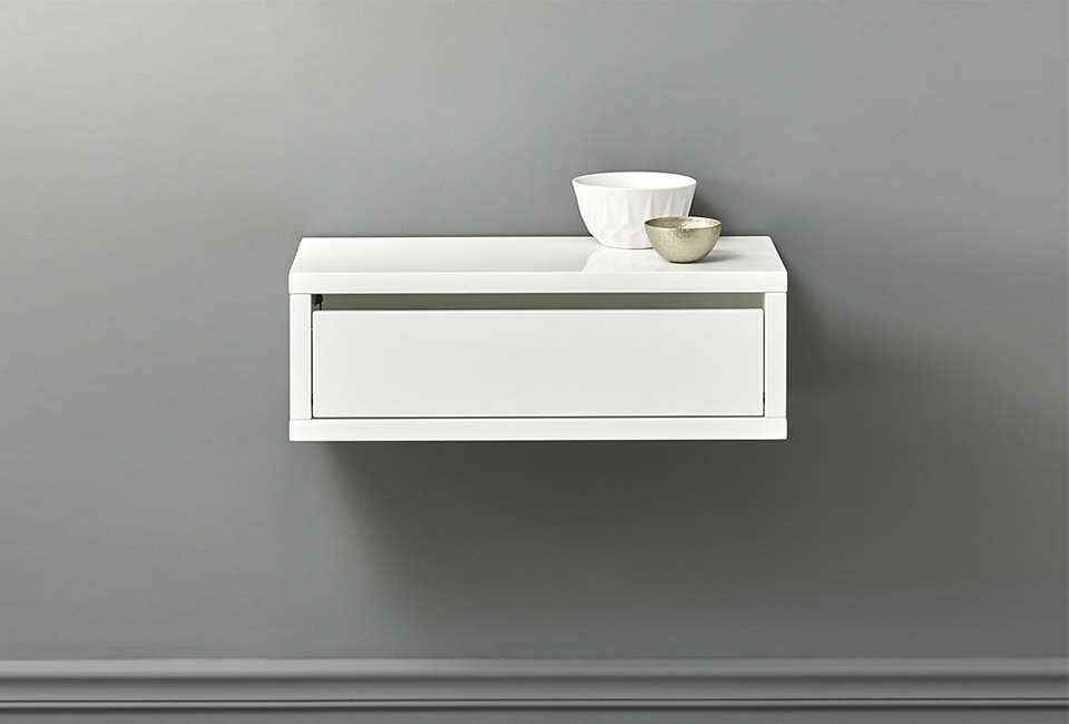 10 Easy Pieces: Wall-Mounted Bedside Shelves with Drawers ...