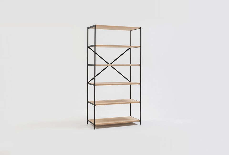 Small Footprint Furniture from a Melbourne Design Duo  : edie shelf jardan furniture remodelista from www.remodelista.com size 960 x 650 jpeg 106kB