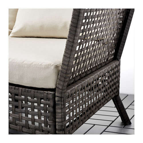 10 easy pieces wicker sofas made modern gardenista. Black Bedroom Furniture Sets. Home Design Ideas