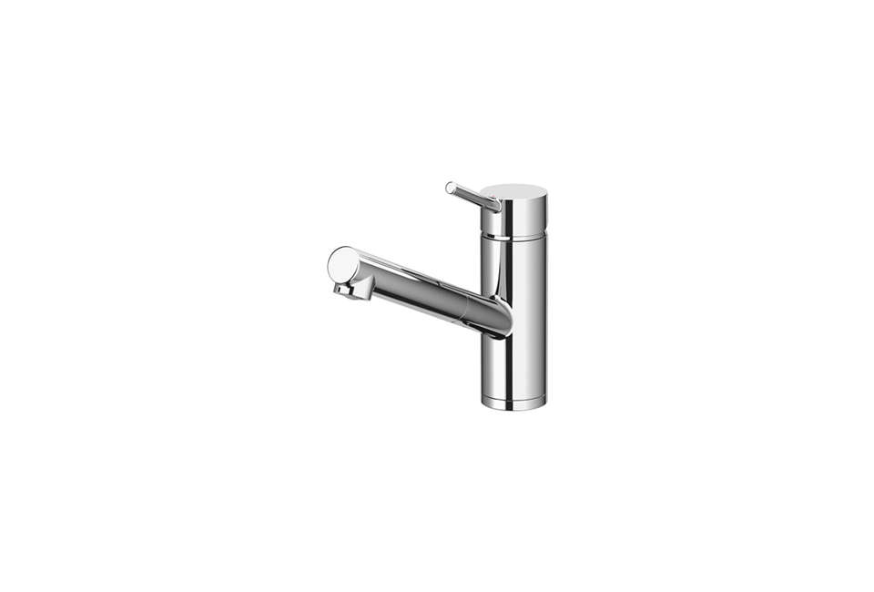Single Handle Wall Mount Kitchen Faucet