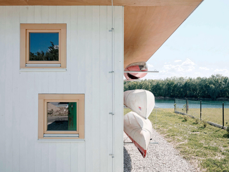 Jazere Summerhouse Canoes Peter Jurkovic