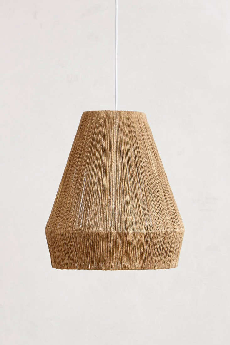 10 Easy Pieces Airy Woven Pendant Lights Gardenista