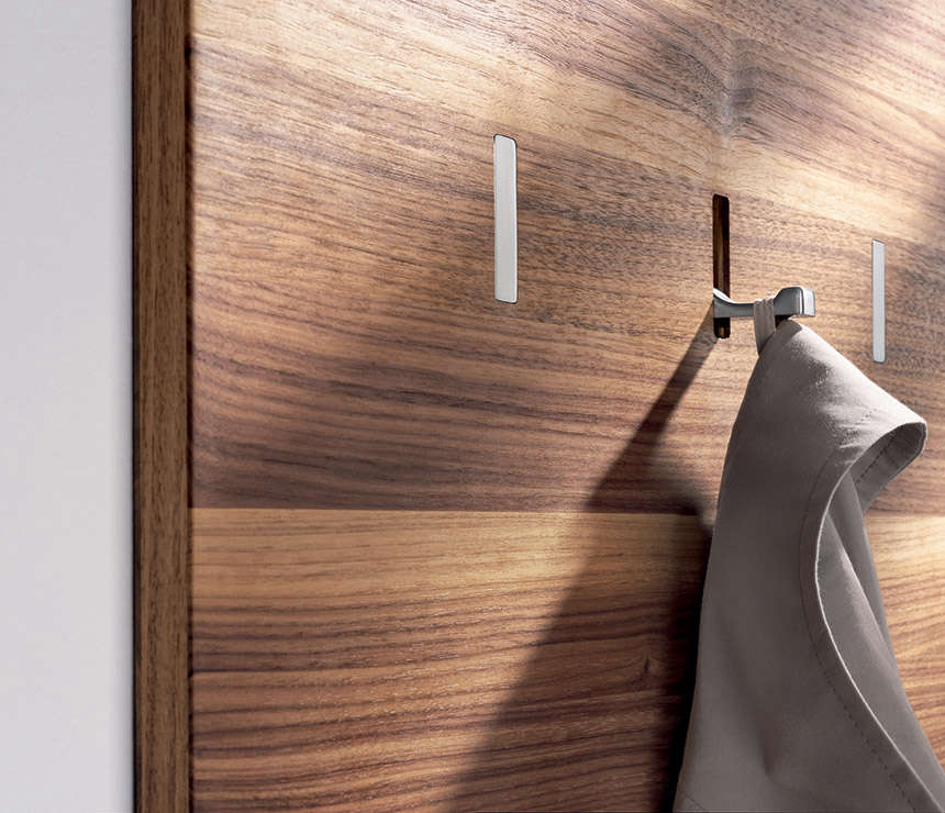 Team 7 Wall Panel with Coat Rack