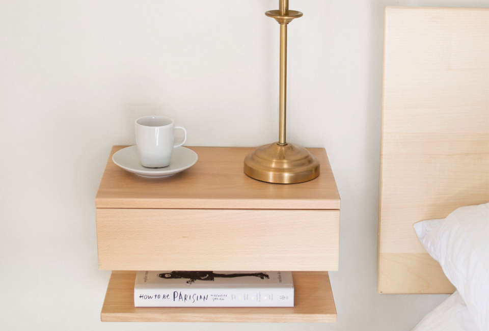 Mounted Bedside Table 10 easy pieces: wall-mounted bedside shelves with drawers