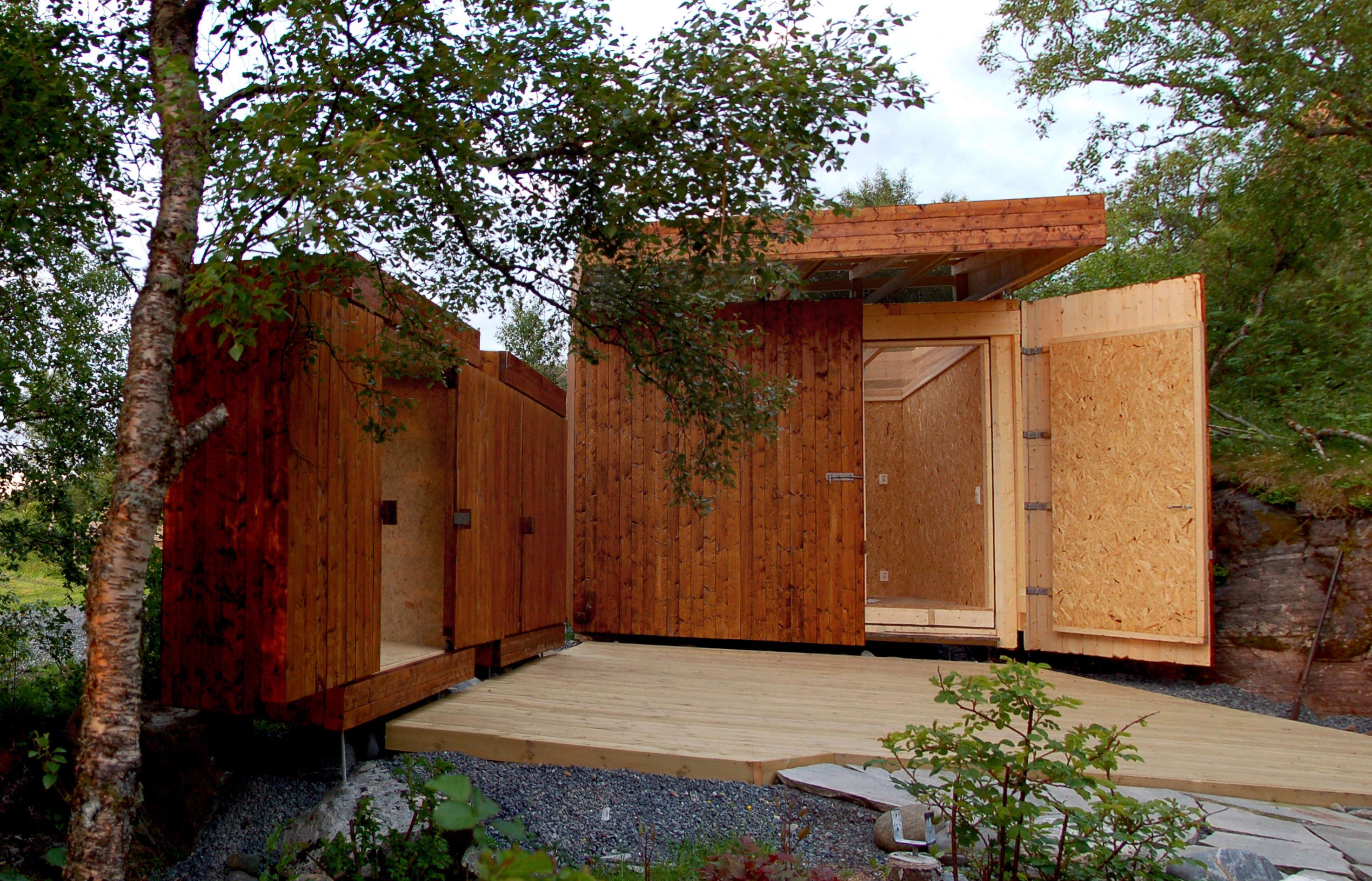Outbuilding of the Week: A See-Through Shed on a ...