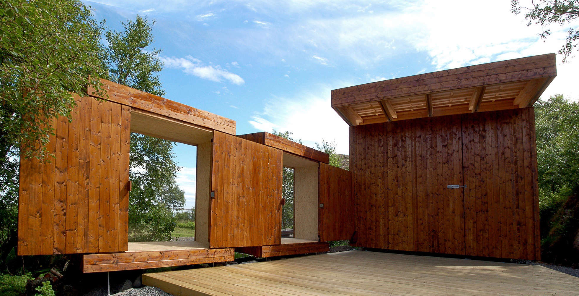 Outbuilding Of The Week A See Through Shed On A
