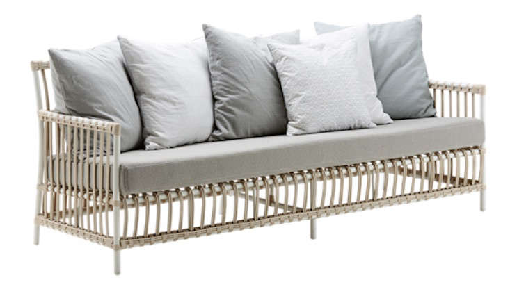Charming Above: From Sika Designs, A Three Seater Caroline Sofa Made With Rattan  From Indonesia Is Suitable For Use Outdoors Or In. It Is 197 Centimeters  Long (about ...