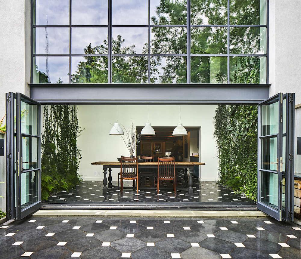 Green Wall Garden In Brooklyn By Kim Hoyt