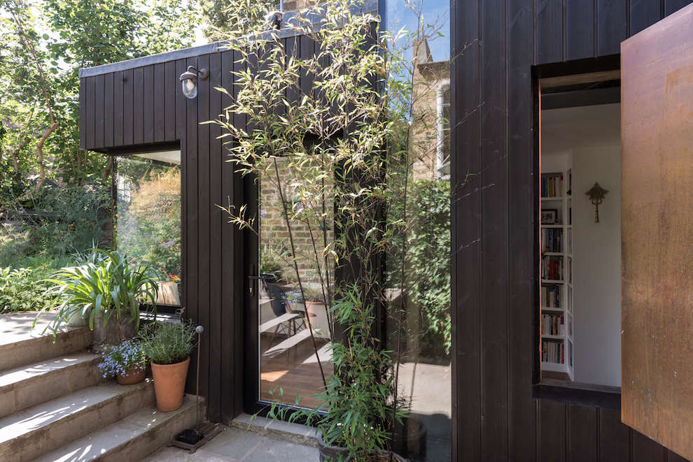 A Light Filled Writing Studio Plus Outdoor Shower For A