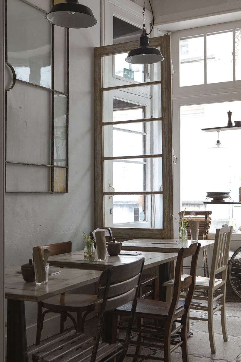 sustainability style and food at native restaurant in antwerp