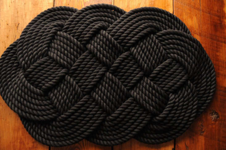 Oyknot_Nautical Rope Rug_Gardenista