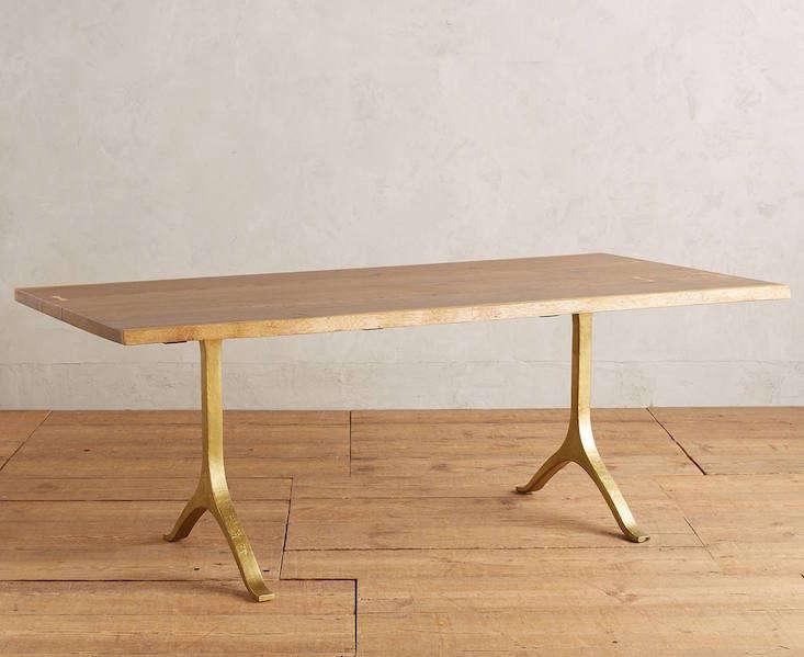 HighLow The It LiveEdge Trestle Table Remodelista Sourcebook - West elm slab dining table