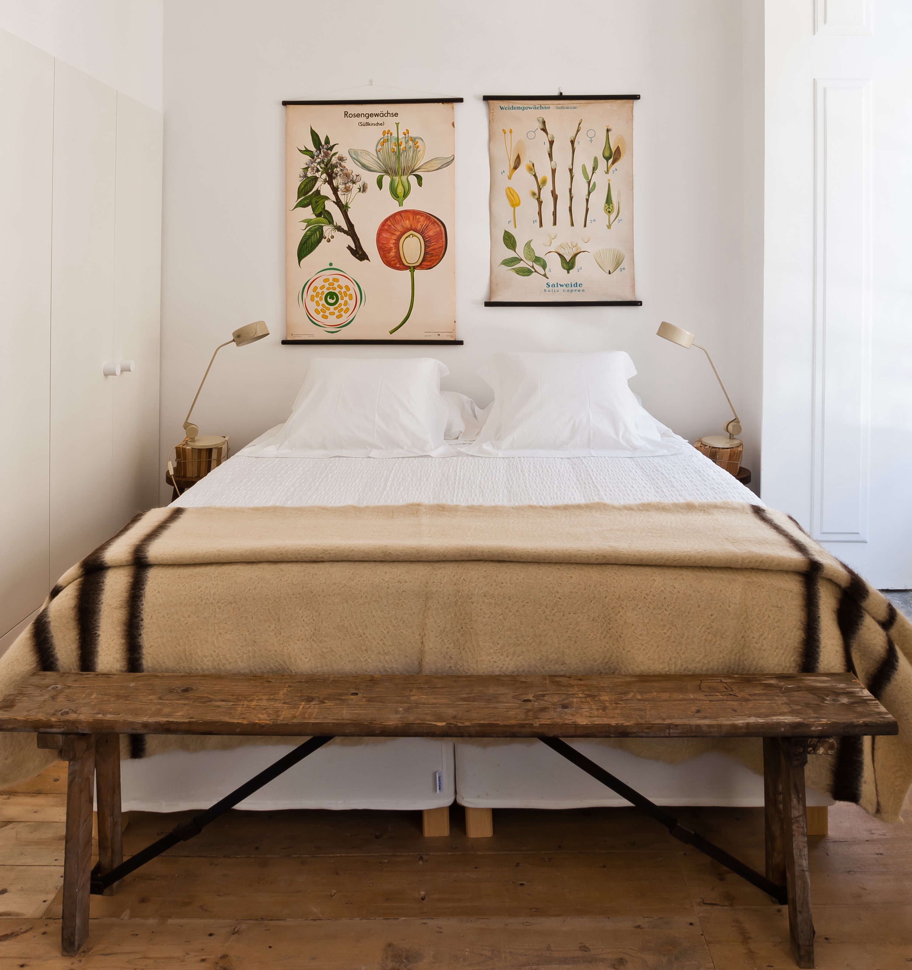 Steal This Look A Portuguese Bedroom With Vintage Charm