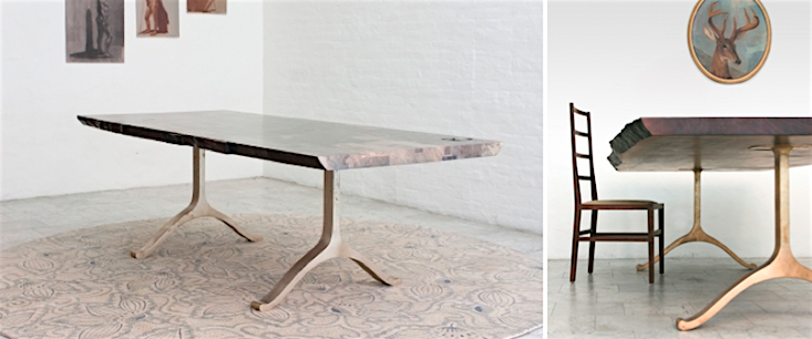 "Wonderful High/Low: The ""It"" Live-Edge Trestle Table 
