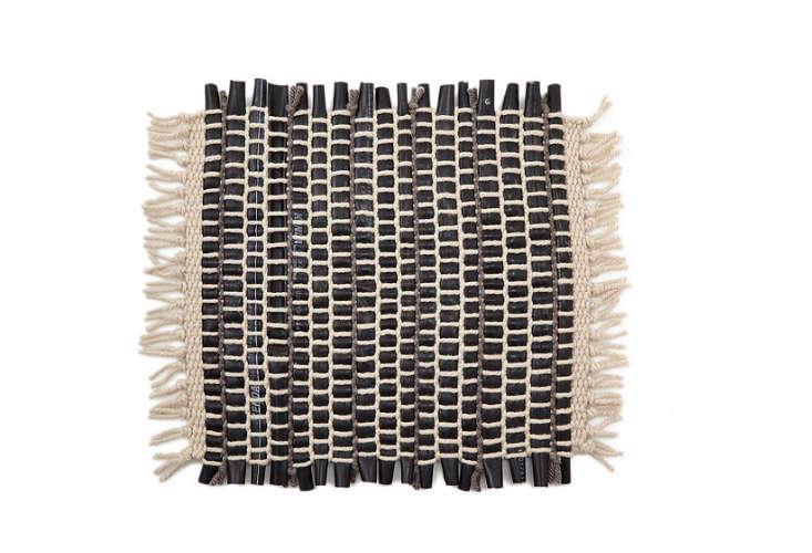 black-white-woven-doormat-gardenista