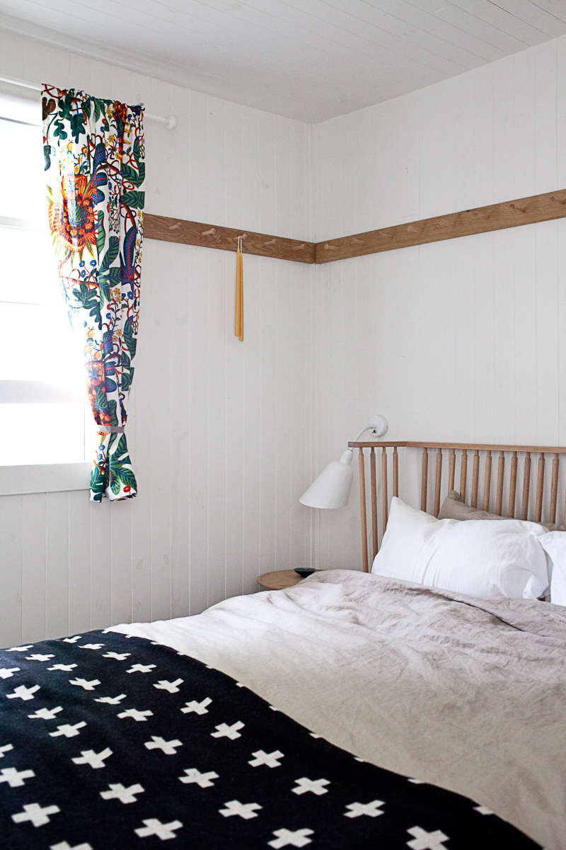 Large Mirror Above Bed