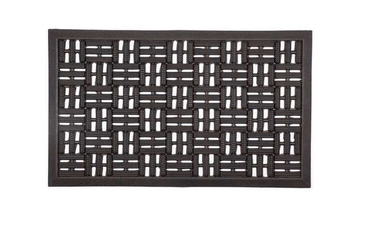 recycled-black-rubber-doormat-gardenista