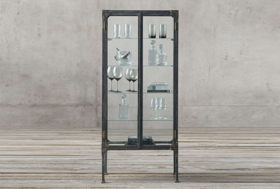 10 Easy Pieces Steel Framed Display Cabinets Remodelista