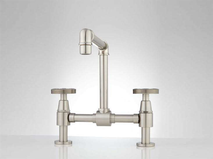 Signature Hardware Victorian Widespread Bathroom Faucet: 5 Favorites: The New Wave Of Industrial-Looking Faucets