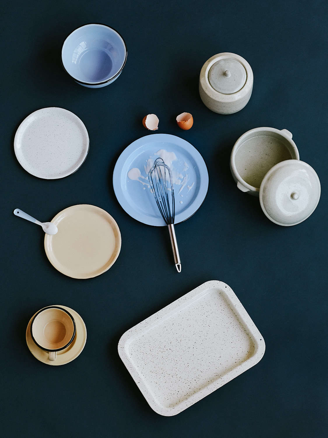 Criolla in Colombia: Classic Enamelware for the Modern Home