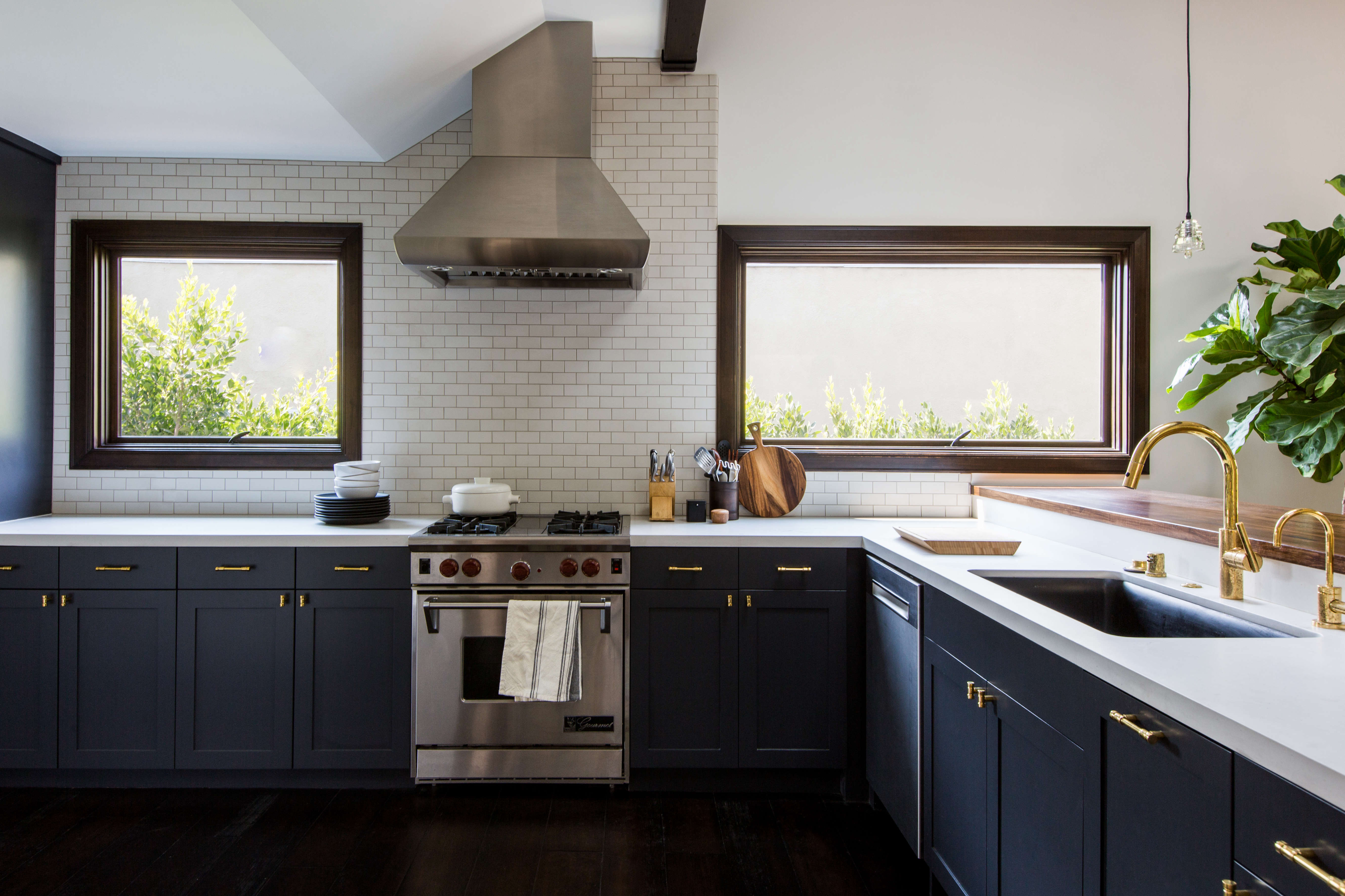 This Old House Blue And White Kitchen Remodel
