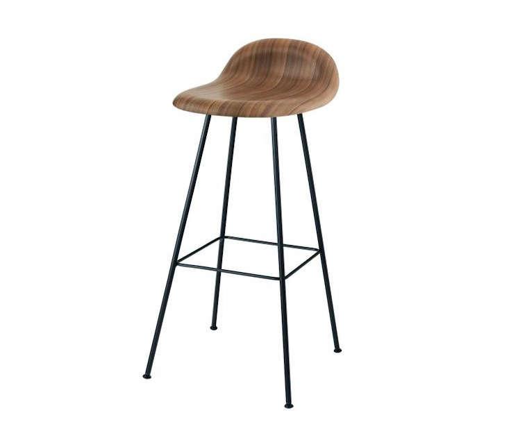 Danish Counter Seat: 10 Easy Pieces: Danish-Designed Wood Stools
