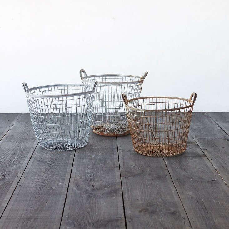 10 Easy Pieces Wire Harvest Baskets Gardenista