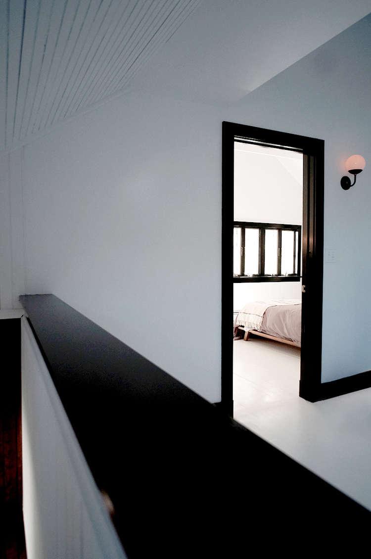 black-and-white-interior-doorway-space-exploration