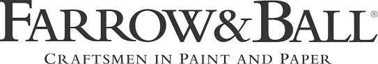 A DIY Headboard with New Wallpaper from Farrow amp Ball farrow and ball logo